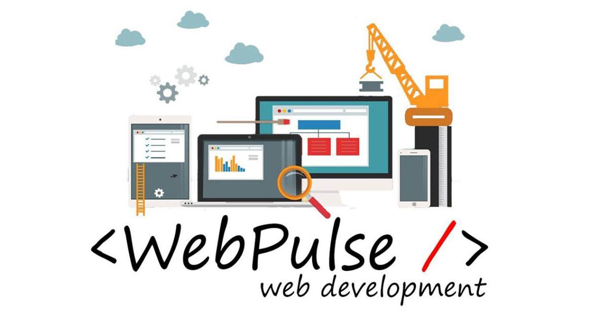Webpulse logo social media